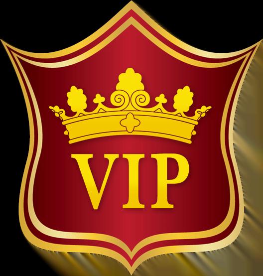 Kungligt vip casino emblem